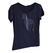 T-Shirt Feminina Minuty Country Cavalo 705