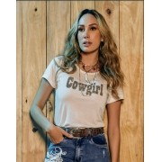 T-Shirt Feminina Minuty Country Cowgirl 702