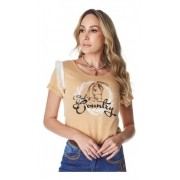 T-Shirt Feminina Minuty Country God´s Country 693