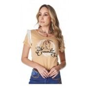 T-Shirt Feminina Minuty Country God´s Country 693