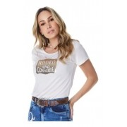 T-Shirt Feminina Minuty Country Rodeo and Cowgirl 704
