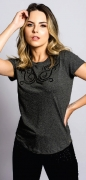 T-Shirt Feminina Miss Country Abraço
