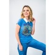 T-Shirt Feminina Miss Country Bagda