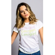T-Shirt Feminina Miss Country Cowgirl
