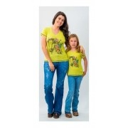 T-Shirt Feminina Miss Country Farm