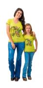 T-Shirt Feminina Miss Country Farm