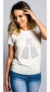 T-Shirt Feminina Miss Country Fé