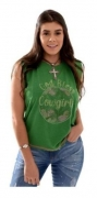 T-Shirt Feminina Miss Country God Bles