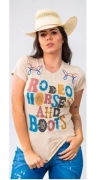 T-Shirt Feminina Miss Country Harley