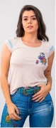 T-Shirt Feminina Miss Country México