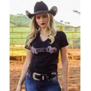 T-Shirt Feminina OX Horns 6165