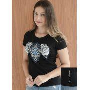 T-Shirt Feminina Ox Horns Preto 6124