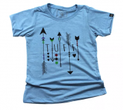 T-shirt Feminina Tuff Malibu Arrows 1283