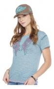 T-Shirt Feminina Zenz Western Sea ZW0320034