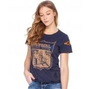 T-Shirt Feminina Zenz Western Blueberry ZW0320037