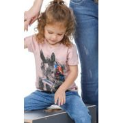 T-Shirt Infantil Miss Country Black Horse 278