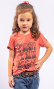 T-Shirt Infantil Miss Country Cowgirl