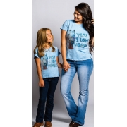 T-Shirt Infantil Miss Country Vida