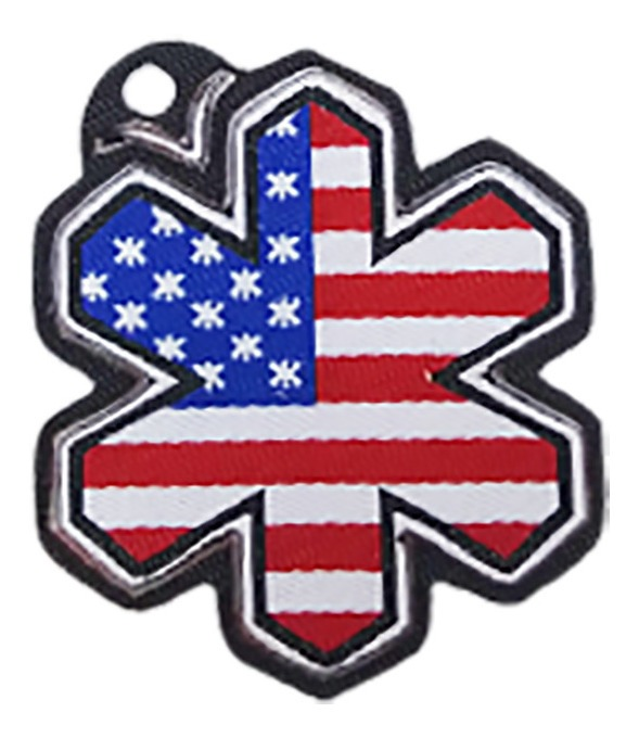 Adesivo para Chapéu Tuff Logo USA