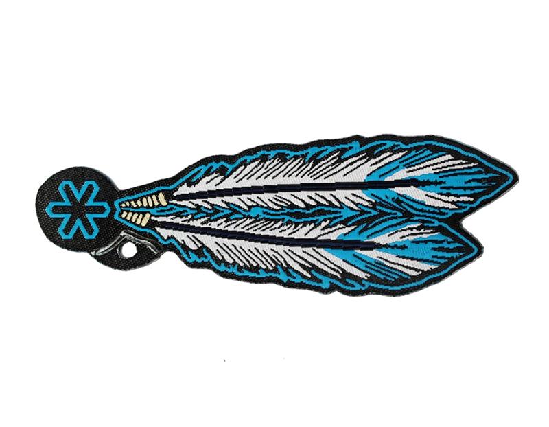 Adesivo para Chapéu Tuff Pena Azul 2258