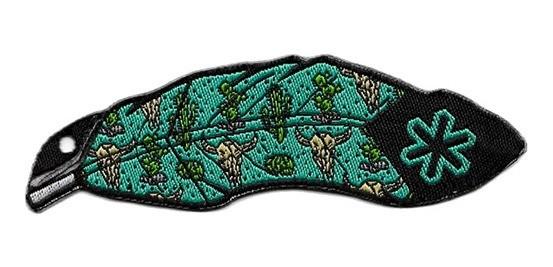 Adesivo para Chapéu Tuff Pena Turquesa Cacto 2012