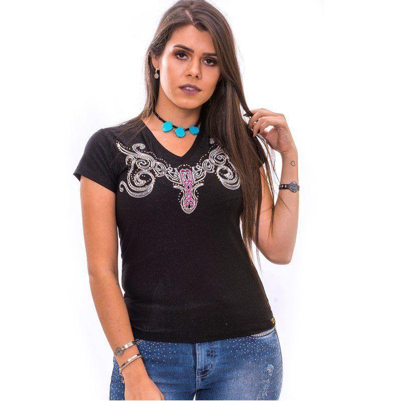 Blusa Feminina Miss Country Esmeralda