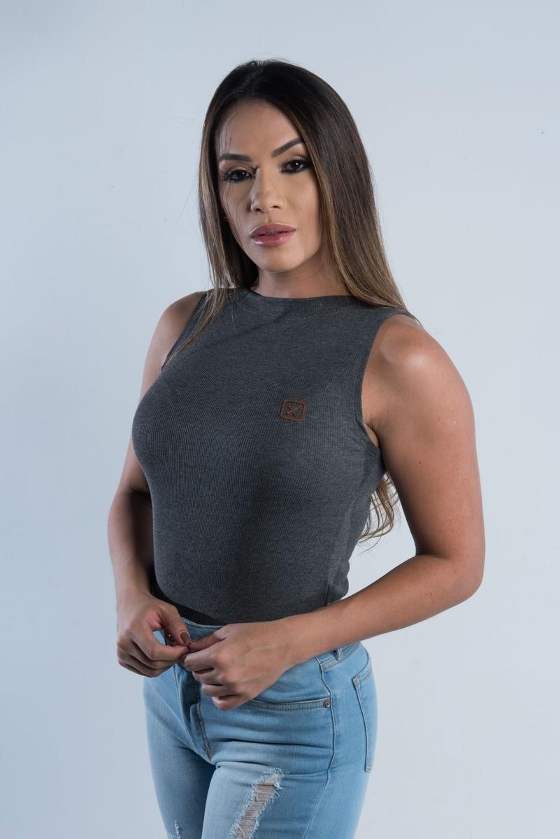 Body Feminino  TXC Brand Mescla 4750