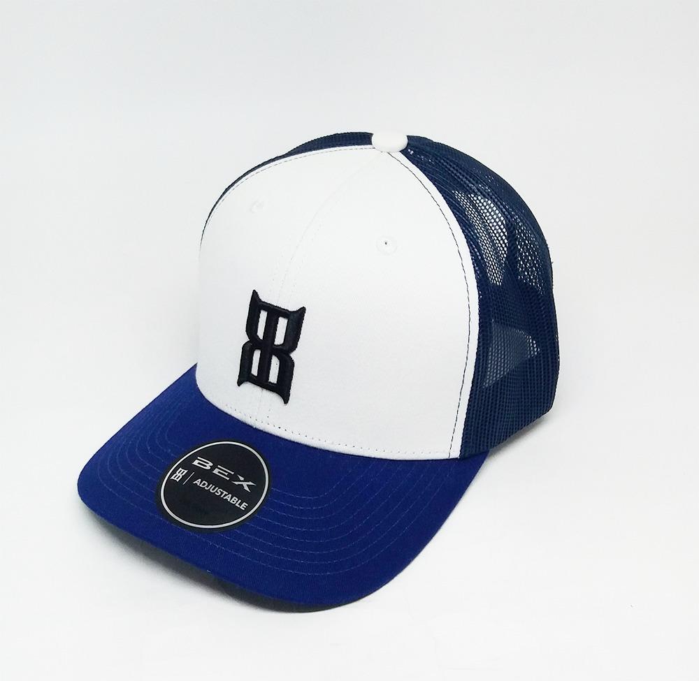 Boné Importado Bex Branco/Azul