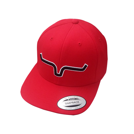 Boné Importado Kimes Ranch Vermelho Logo Preto  0583138631c