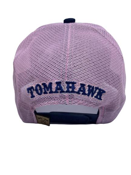 Boné Tomahawk Cinza e Rosa 30844
