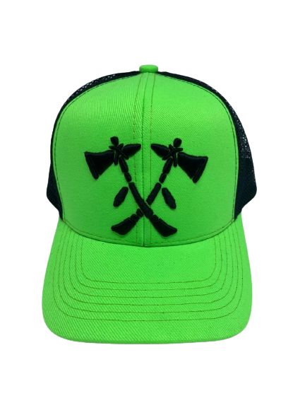Boné Tomahawk Verde Limão 30858
