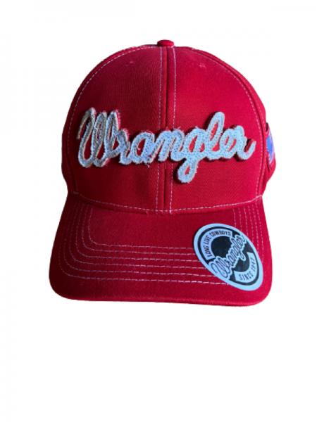 Boné Wrangler Snap Vermelho WMC350