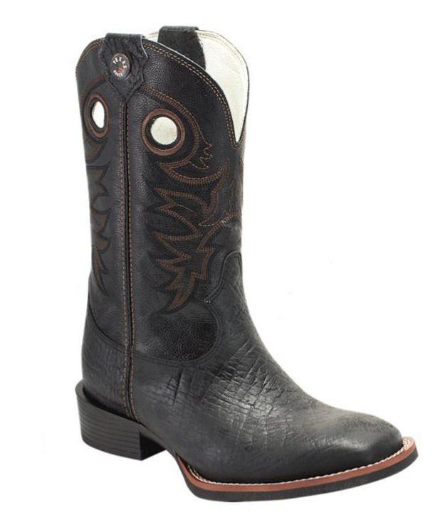 Bota Masculina Texas Rodeo Mamuti Preto/Preto T112 LQBO