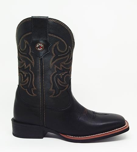Bota Masculina Texas Rodeo Preto 20211225 LQBO