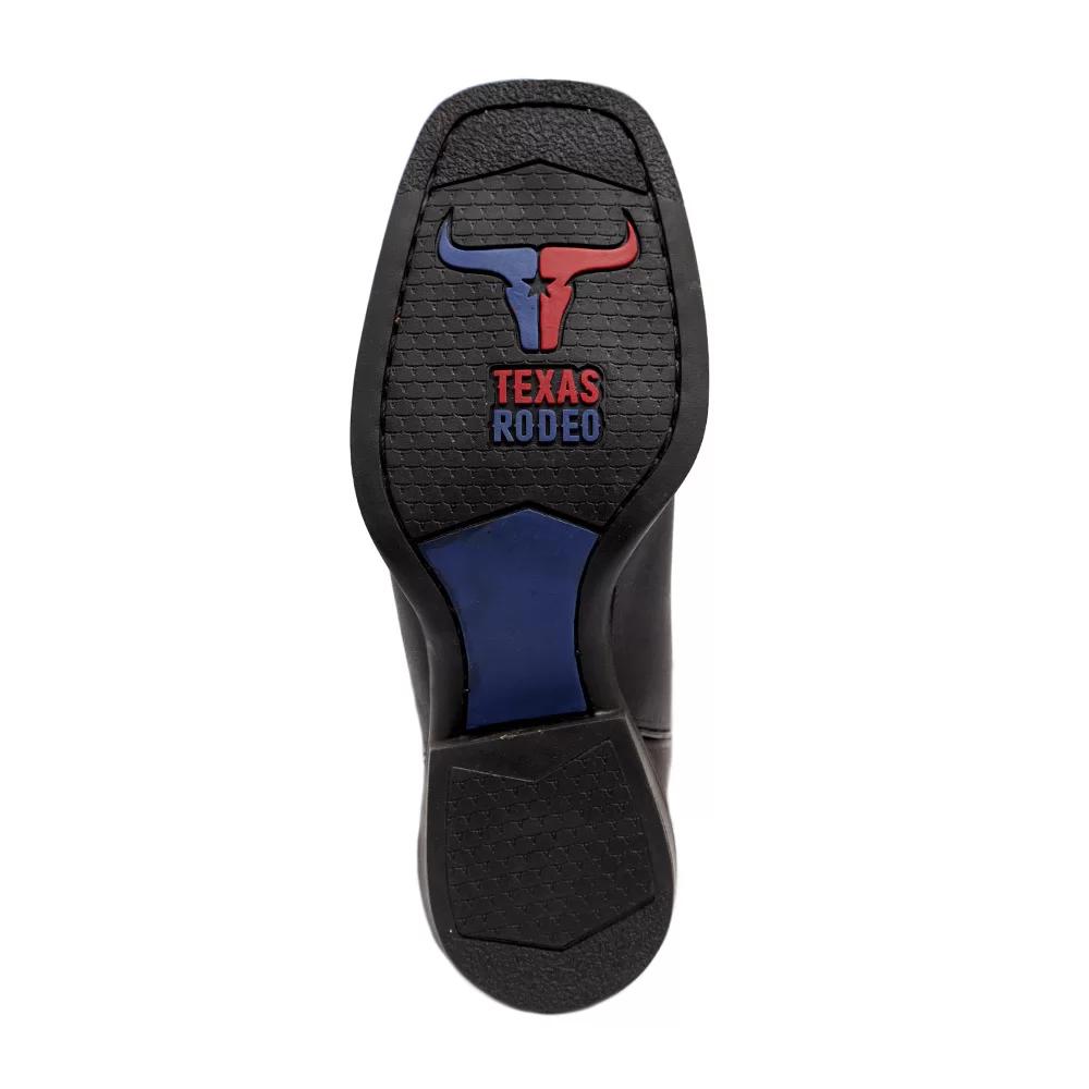 Bota Texas Rodeo Crazy Tabaco/Preto TR110