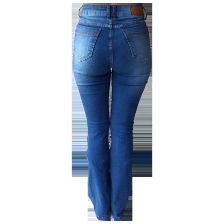 Calça Jeans Feminina Minuty Flare Pedraria 201843