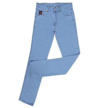 Calça Jeans Infantil Docks Tradicional Delave