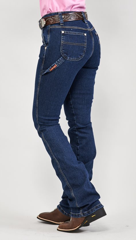 Calça Jeans Feminina Carpenter Dock´s Stone