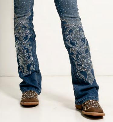 Calça Jeans Feminina Dakota West Dust