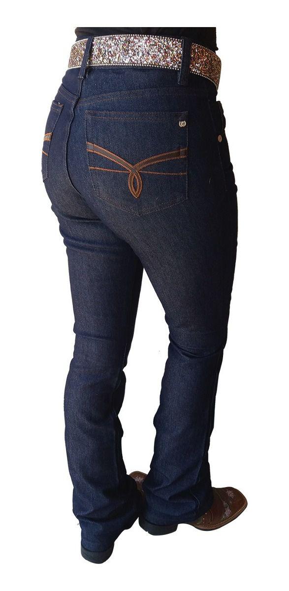 Calça Jeans Feminina Docks  Hot Pant BootCut