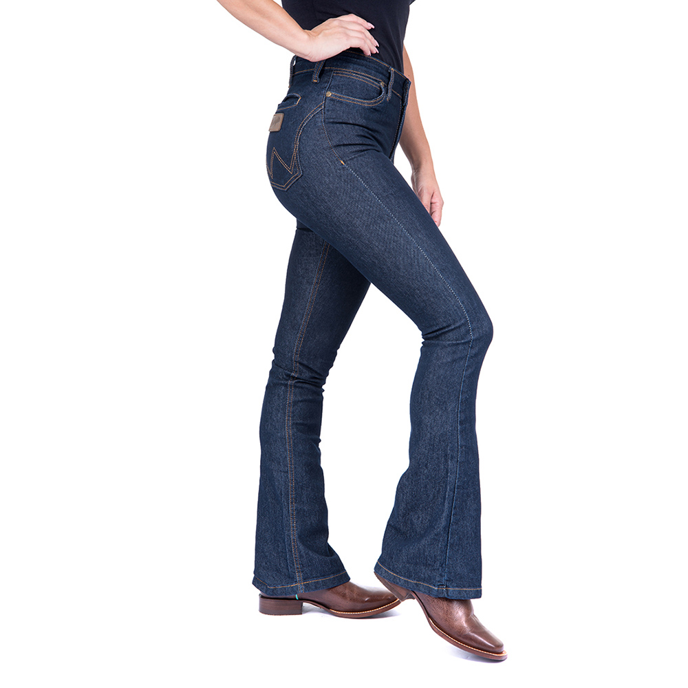 Calça Jeans  Feminina Flare Wrangler 21M4CPW60