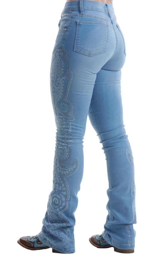 Calça Jeans Feminina Hudson West Dust