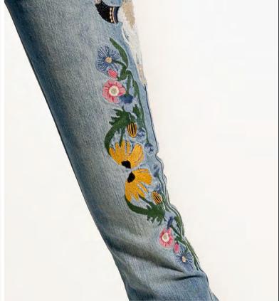 Calça Jeans Feminina Kentuck Mundi West Dust