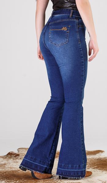 Calça Jeans Feminina Max Flare Hot Pant 19521
