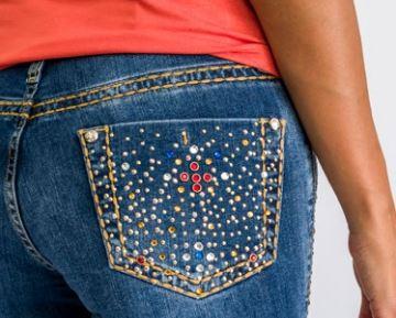 Calça Jeans Feminina Miss Country Ametista