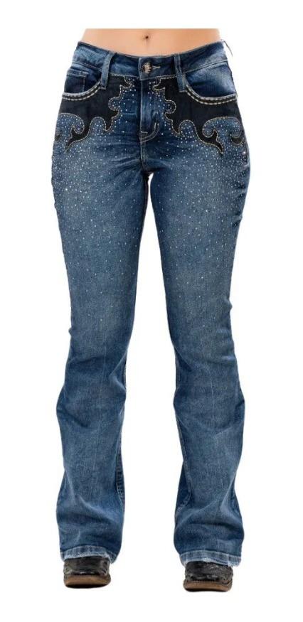 Calça Jeans Feminina Miss Country - Country