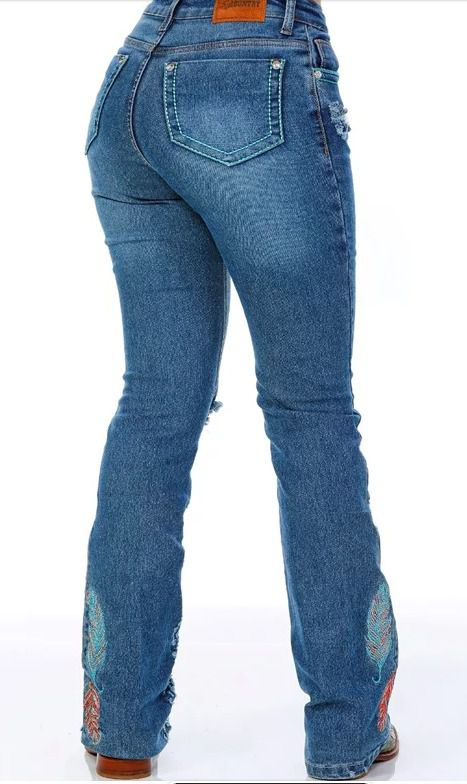 Calça Jeans Feminina Miss Country Freedom 310