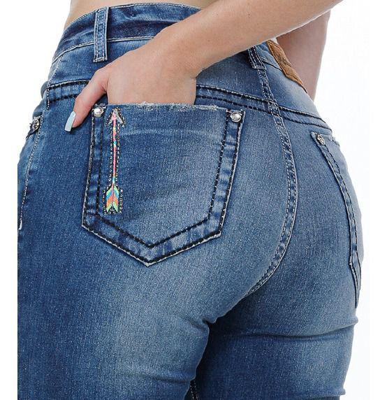 Calça Jeans Feminina Miss Country Just Be 312