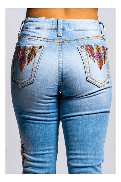 Calça Jeans Feminina Miss Country Resgate