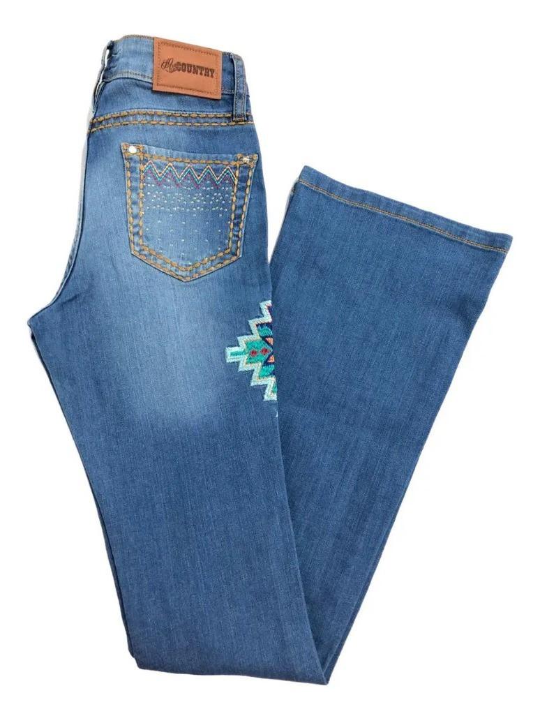 Calça Jeans Feminina Miss Country Zingara